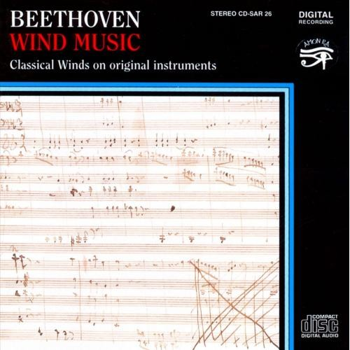 Beethoven: Wind Music [CD]