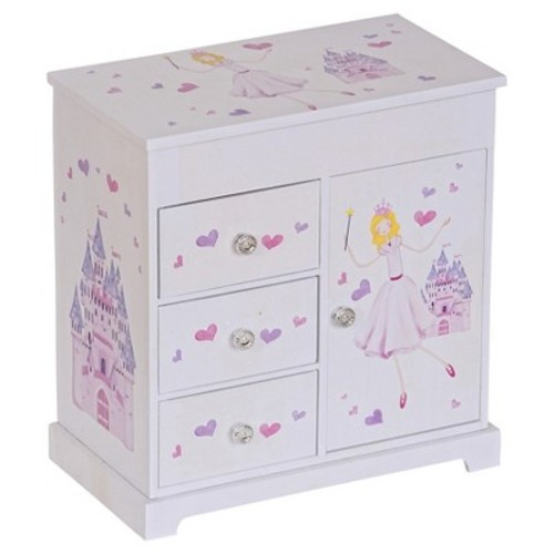 Mele & Co. Adalyn Girls Musical Ballerina Jewelry Box