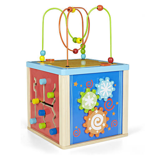 Imaginarium 5 Way Activity Cube with Shape Sorter