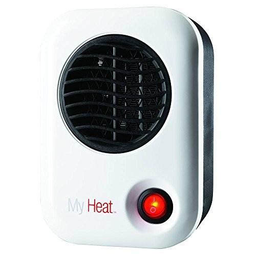 Lasko 101 My Heat Personal Heater, White [White]
