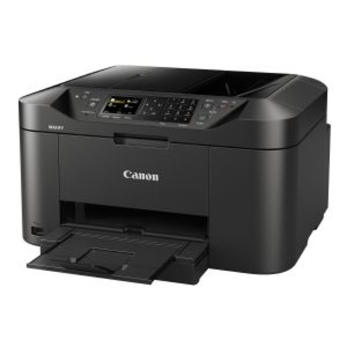 Canon MAXIFY MB2120 - Multifunction printer - color - ink-jet - Legal (8.5 in x 14 in) (original) - Legal (media) - up to 19 ipm (printing) - 250 sheets - 33.6 Kbps - USB 2.0, LAN, Wi-Fi(n), USB host