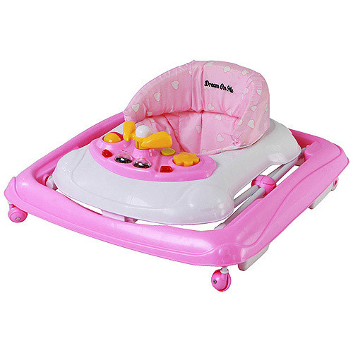 Dream On Me Scout Musical Walker and Activity Center, Pink [Pink]