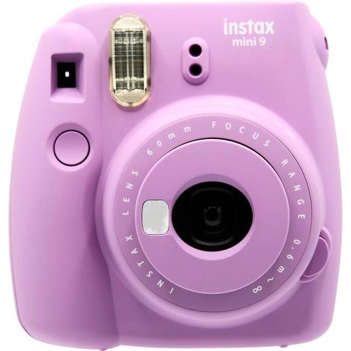 Fujifilm - instax mini 9 Instant Film Camera - Smokey Purple