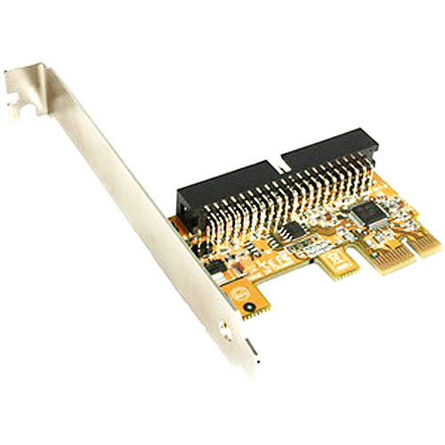 StarTech.com 1 Port PCI Express IDE Controller Adapter Card PEX2IDE