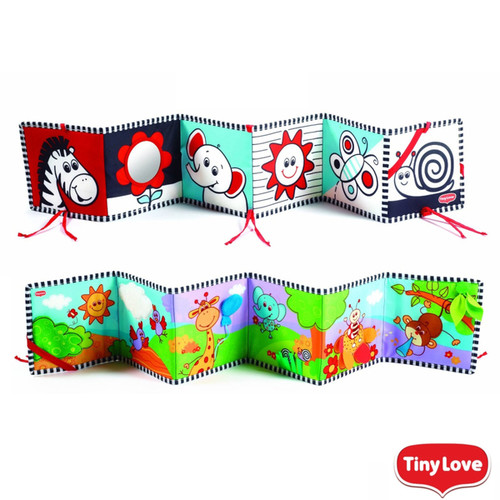 Tiny Love Double-sided First Book - Activity toy
