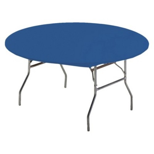 Creative converting 37242 Royal Blue Round Stay Put Table Cover