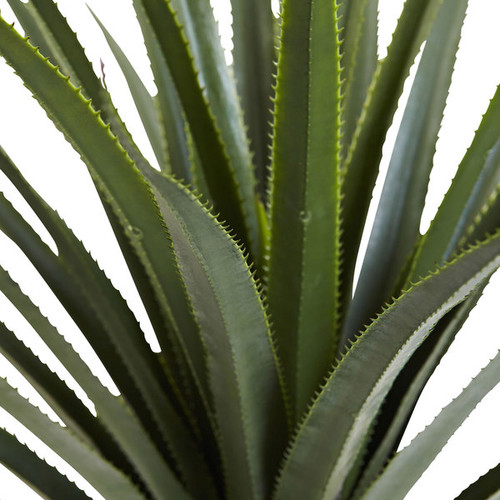 Nearly Natural Artificial Plants 4-foot Spiked Agave Plant