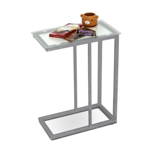 Furinno Kaca Clear Glass Snack Table