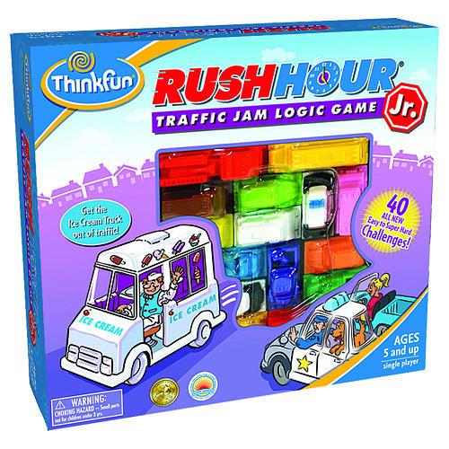 ThinkFun Junior Rush Hour Traffic Jam Logic Board Game
