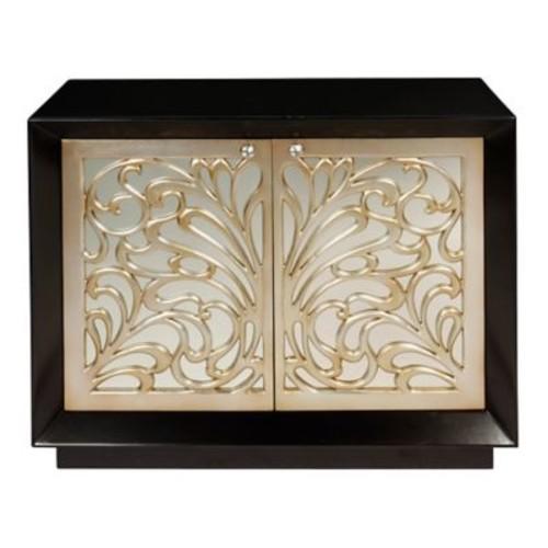 BradburnHome Mirrored 2 Drawer Cabinet