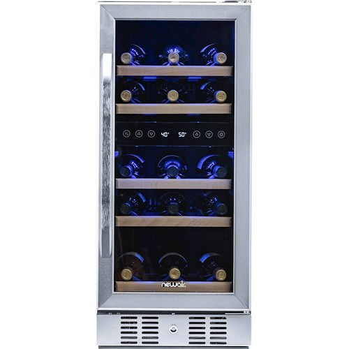 Air - 29-Bottle Wine Cooler - Stainless steel