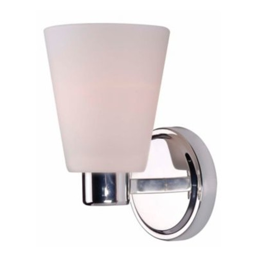 Kenroy Home Scarsdale 1-Light Wall Sconce in Polished Nickel