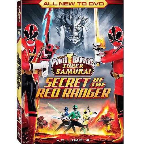 Power Rangers Super Samurai, Vol. 4: The Secret of the Red Ranger [DVD]