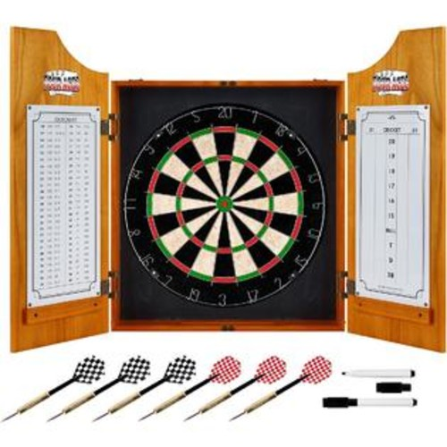 TRADEMARK GLOBAL FOUR ACES DART BOARD CABINET