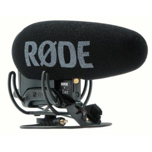 Rode Microphones VideoMic Pro+ Directional On-Camera Microphone With accessories