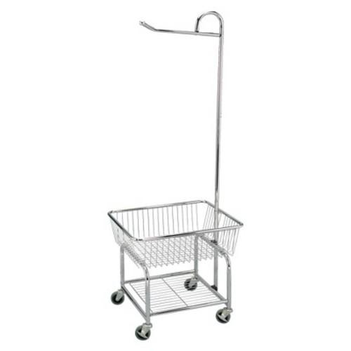 Household Essentials Chrome Laundry Cart