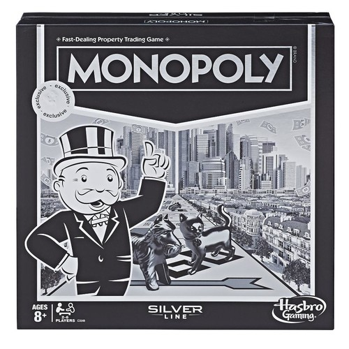Monopoly Silver Line Edition Game