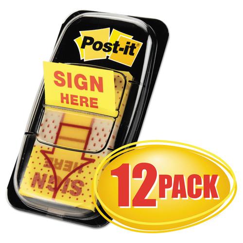 Post-it MMM680SH12 Flags Arrow Message 1