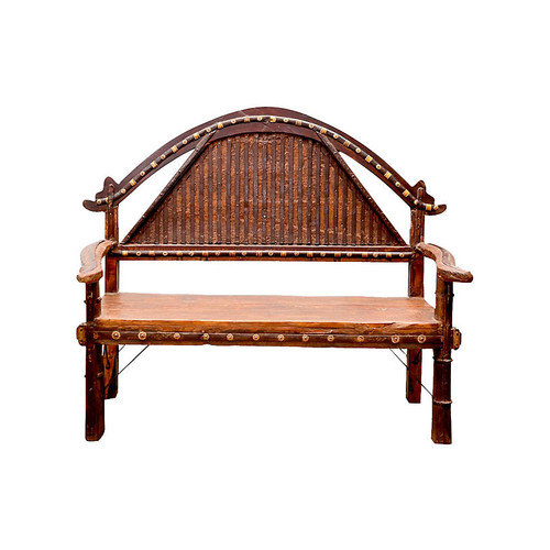 Ironstrap Sojat Oxcart Bench