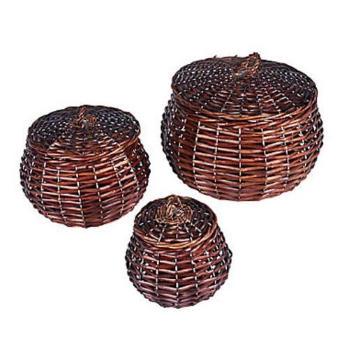 Household Essentials Willow Storage 3-pc. Basket