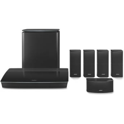 Lifestyle 600 Home Theater System with Jewel Cube Speakers (Black)