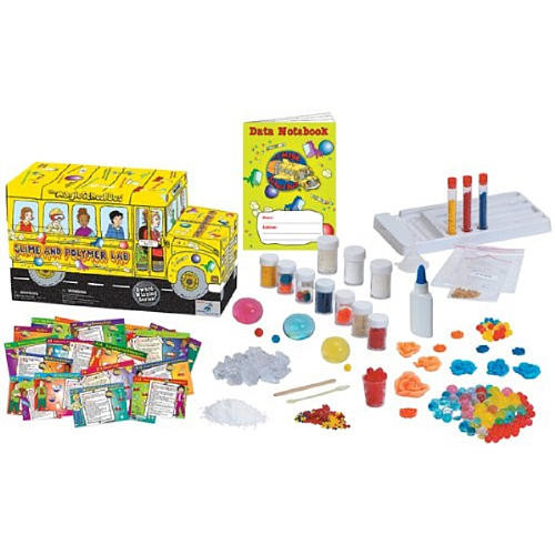 The Magic School Bus Slime and Polymer Lab Science Kit