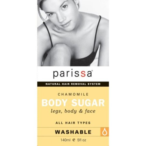 Parissa Chamomile Body Sugar Natural Hair Remover System - 5 Oz