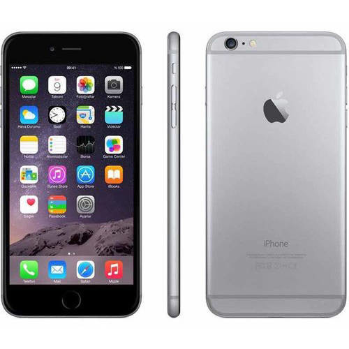 Apple iPhone 6 Plus 16GB Refurbished Smartphone, Gray