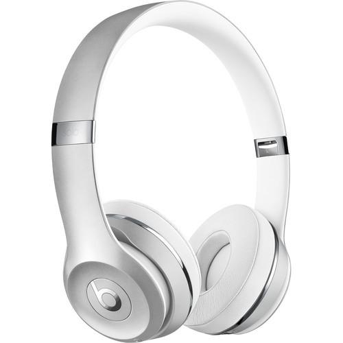Beats Solo3 Wireless On-Ear Headphones (Silver)