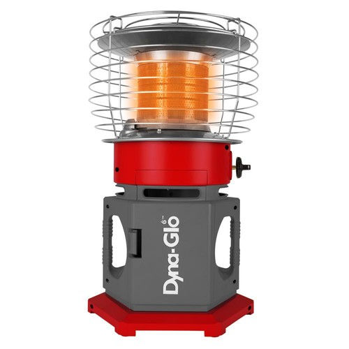Dyna-Glo 18K BTU HeatAround 360 ELITE Portable Propane Heater in Red