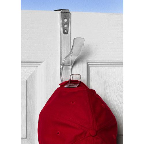Spectrum Diversified Over the Door Adjustable Hat & Coat Hook