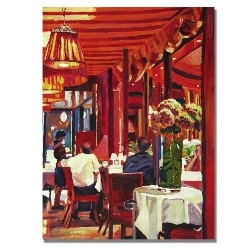 Chez Parisian by David Lloyd Glover, 18x24-Inch Canvas Wall Art [18 by 24-Inch]