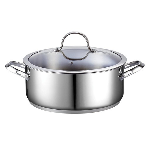 Cooks Standard 7 Qt. Stainless Steel Dutch Oven