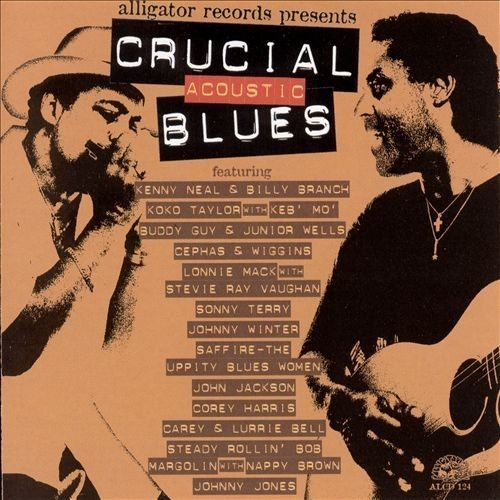 Crucial Acoustic Blues [CD]