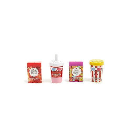 Movie-Themed Flavored Lip Gloss Set