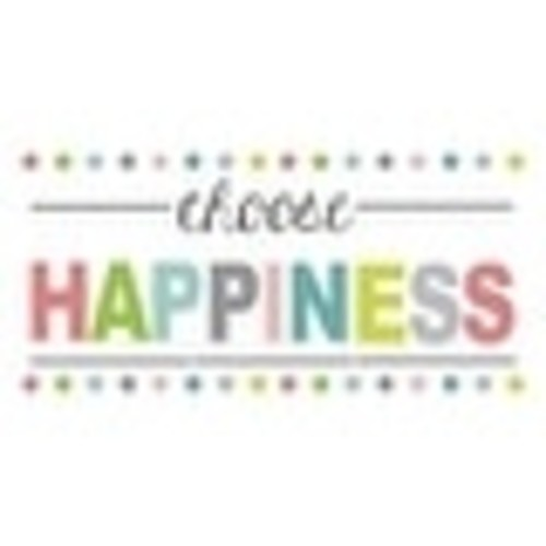 Brewster WPE1178 Choose Happiness Quote