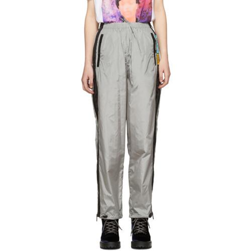 PRADA Grey Nylon Track Pants