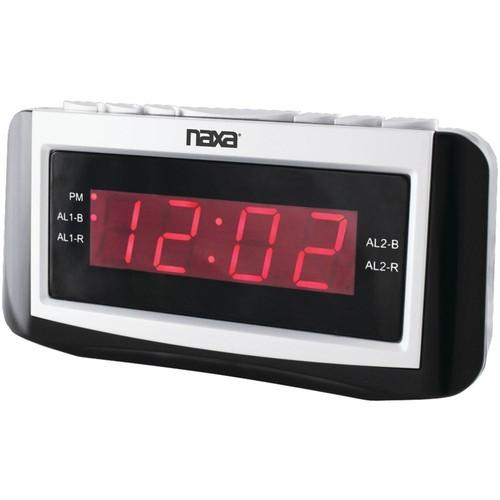 Naxa Digital Alarm Clock with Large Led Display