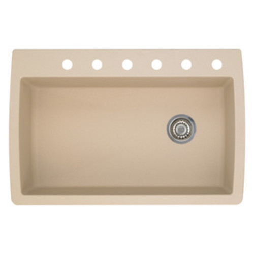 BLANCO Diamond Single-Basin Drop-In or Undermount Granite Kitchen Sink