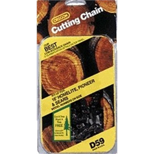 Oregon 18-Inch Vanguard Chain Saw Chain Fits Craftsman, Echo, Homelite, McCulloch, Poulan D66