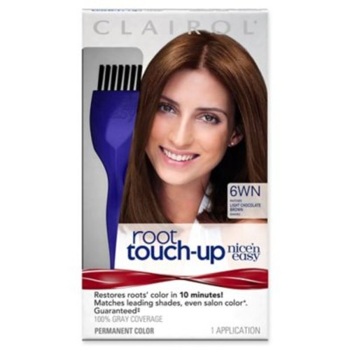 Clairol Nicen Easy Root Touch-Up Permanent Hair Color in 6WN Light Chocolate Brown