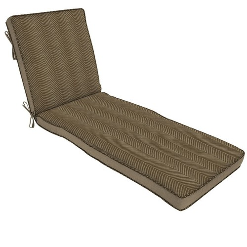 Bombay Outdoors Outdoor Cushions & Pillows Bombay Outdoors Brown Chaise Cushion