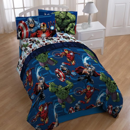 Marvel Avengers Heroic Age 4-piece Twin Bedding Set