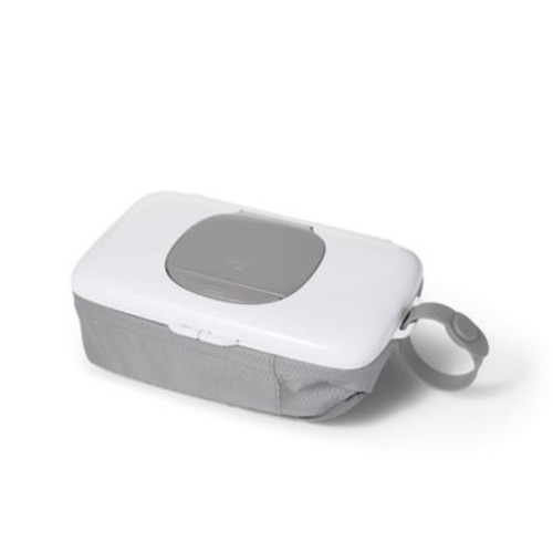 OXO tot On-the-Go Wipes Dispenser with Diaper Pouch in Grey