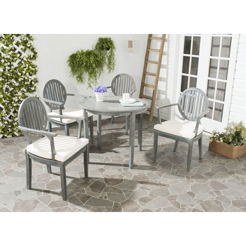 Safavieh Chino 5PC Outdoor Patio Set