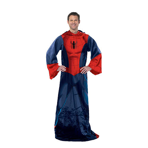 Marvel Spider-Man Spider Up Comfy Throw