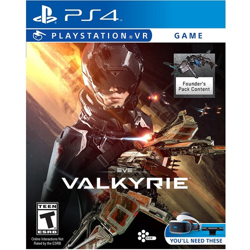 Eve: Valkyrie - PlayStation VR [Disc, PlayStation 4]