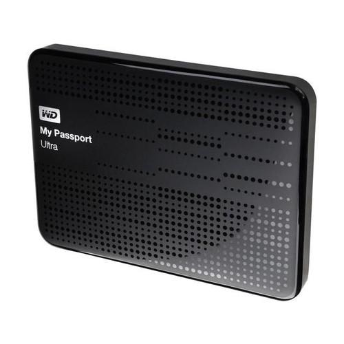 WD 1TB My Passport Ultra Portable Hard Drive USB 3.0 Model WDBZFP0010BBK-NESN Black