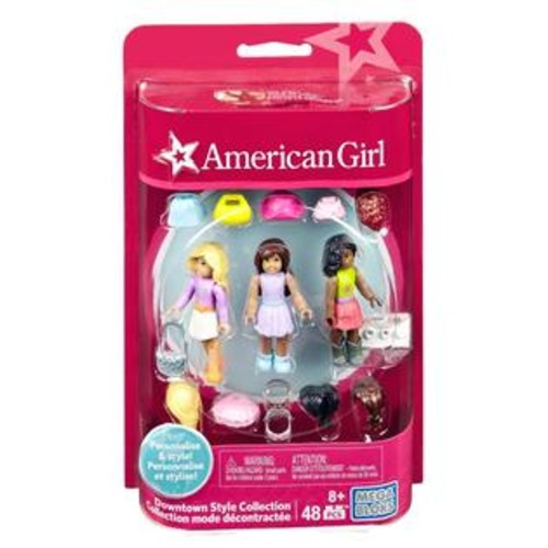 Mega Brands,Mega Construx Mega Construx American Girl Downtown Style Collection