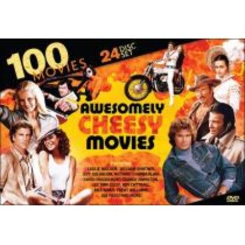 100 Awesomely Cheesy Movies [24 Discs] [DVD]